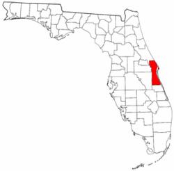 Brevard County Florida Map.Radon Levels For Brevard County