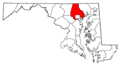 Radon Levels For Baltimore County - Radon map maryland