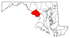 Radon Levels For Montgomery County - Radon map maryland