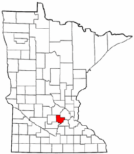 Radon levels for carver county minnesota map showing carver county sciox Image collections